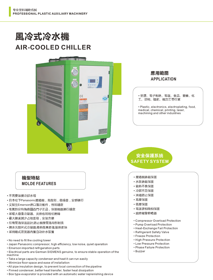 KAIFENG AIR COOLED CHILLER -1